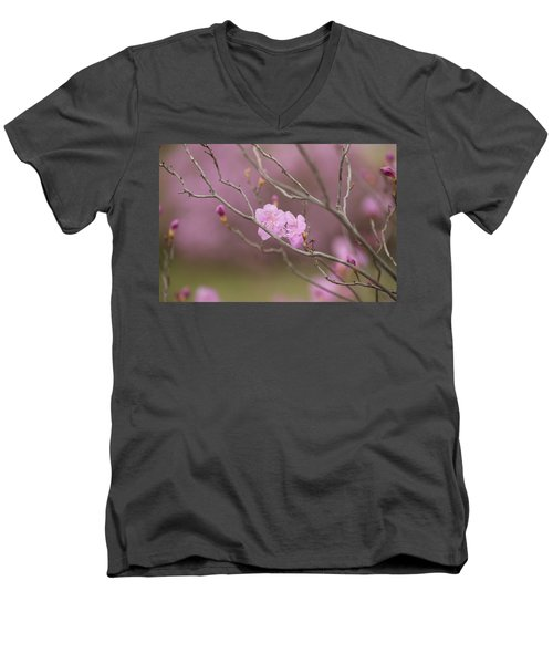 azalea III Men's V-Neck T-Shirt