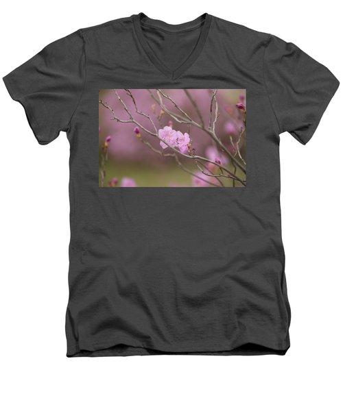 azalea III Men's V-Neck T-Shirt