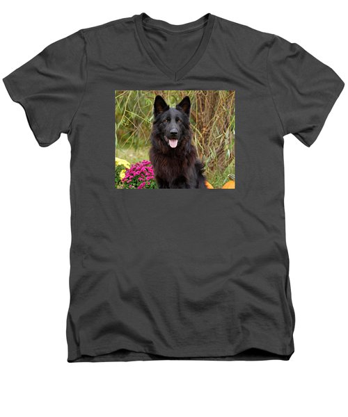 Aziza Men's V-Neck T-Shirt