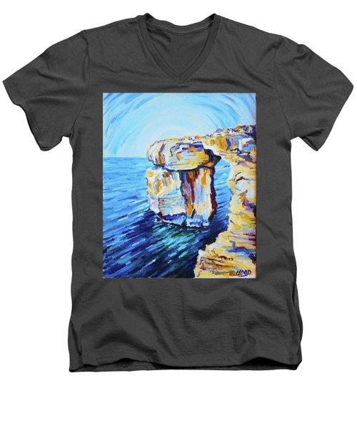 Azure Window Men's V-Neck T-Shirt