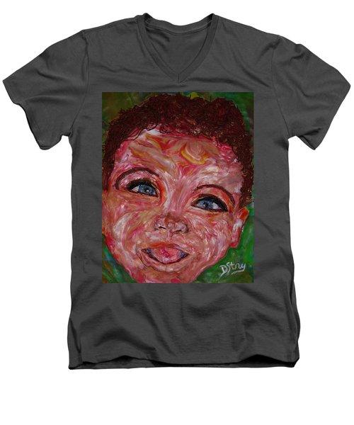 Azuriah Men's V-Neck T-Shirt