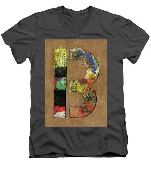The Letter B Men's V-Neck T-Shirt