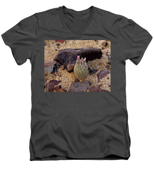 Baby Barrel Cactus Men's V-Neck T-Shirt