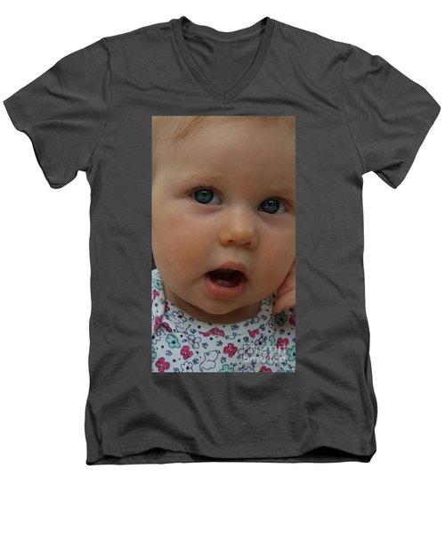 Baby Beauty Men's V-Neck T-Shirt