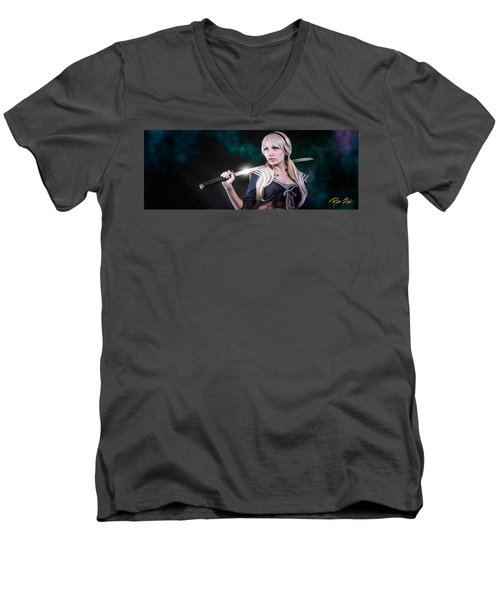 Baby Doll Men's V-Neck T-Shirt