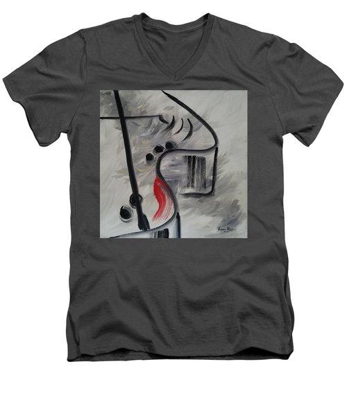Baby Grand Men's V-Neck T-Shirt