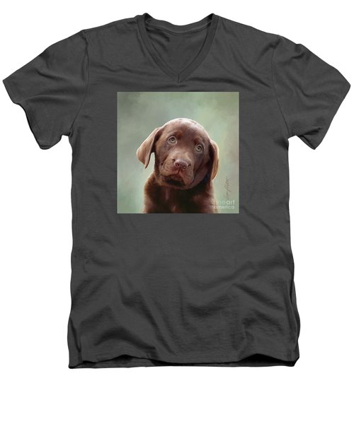 Baby Molly B Men's V-Neck T-Shirt