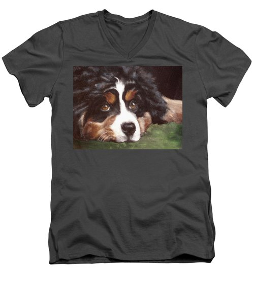 Baby Tess Men's V-Neck T-Shirt