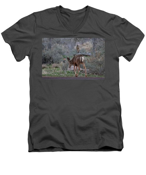 Back Into The Woods - 2 Men's V-Neck T-Shirt