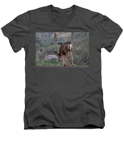 Back Into The Woods Men's V-Neck T-Shirt