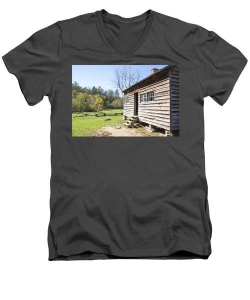 Back Porch Men's V-Neck T-Shirt