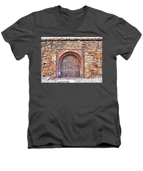 Back To Medieval Times Men's V-Neck T-Shirt