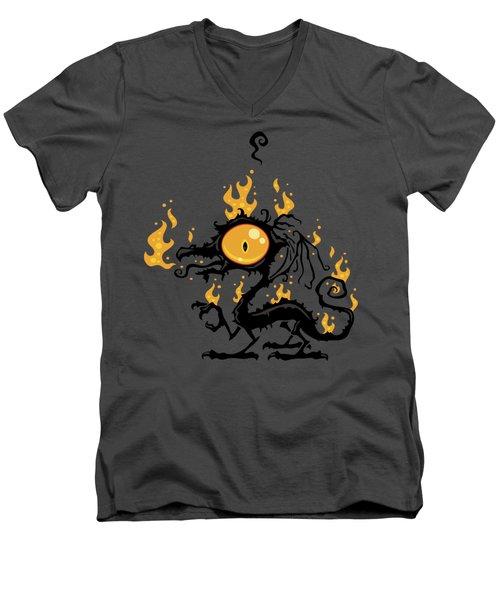 Backfire Men's V-Neck T-Shirt