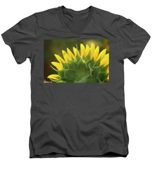 Backlit Beauty Men's V-Neck T-Shirt by Phyllis Peterson