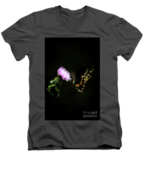 Backroad Butterfly Men's V-Neck T-Shirt