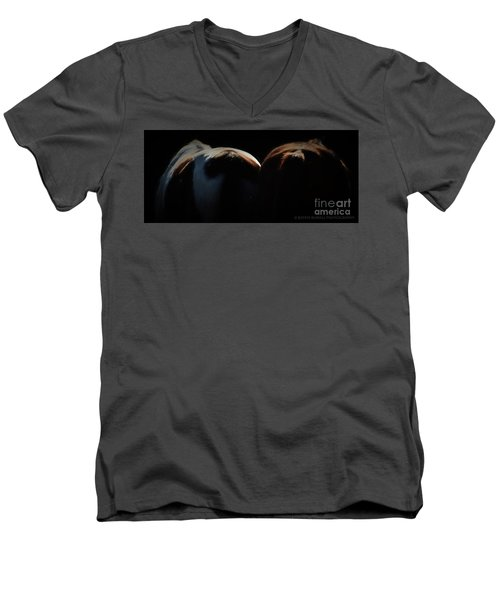 Backsides Men's V-Neck T-Shirt by Kathy Russell