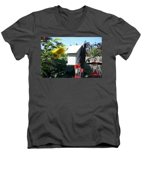 Backyard Garden Men's V-Neck T-Shirt
