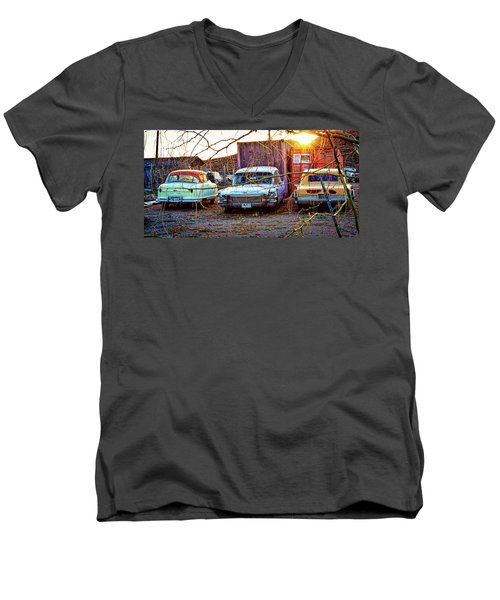 Backyard Jewells Men's V-Neck T-Shirt