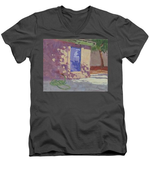 Backyard Shadows Men's V-Neck T-Shirt