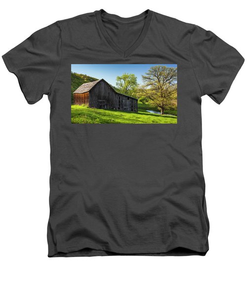 Bad Axe Barn Men's V-Neck T-Shirt