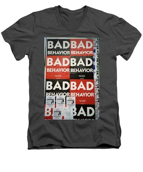 Bad Behavior Men's V-Neck T-Shirt