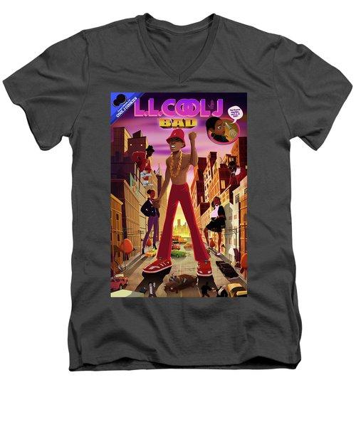 BAD Men's V-Neck T-Shirt