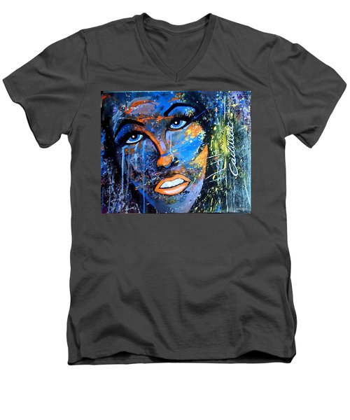 Badfocus Men's V-Neck T-Shirt