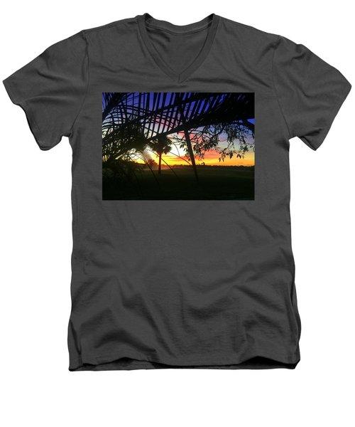 Badgolf  Men's V-Neck T-Shirt