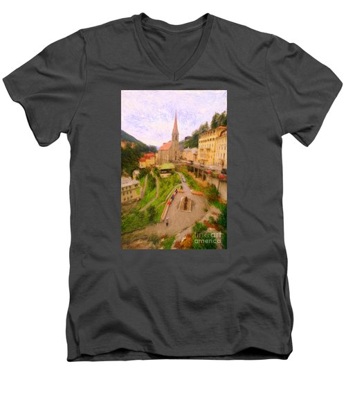 Badhofgastein Men's V-Neck T-Shirt
