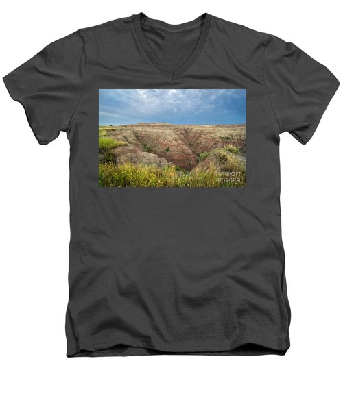 Badland Ravine Men's V-Neck T-Shirt