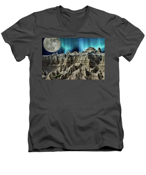 Badland's Borealis Men's V-Neck T-Shirt
