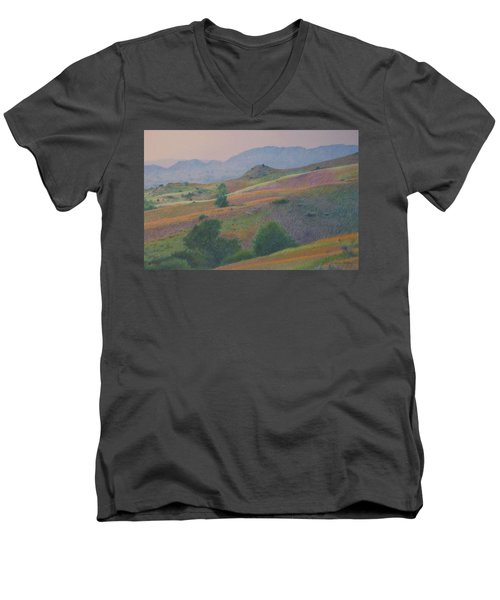 Badlands In July Men's V-Neck T-Shirt
