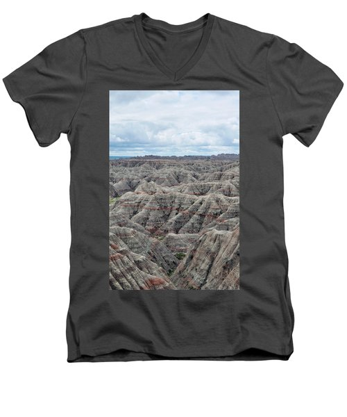 Badlands National Park Men's V-Neck T-Shirt