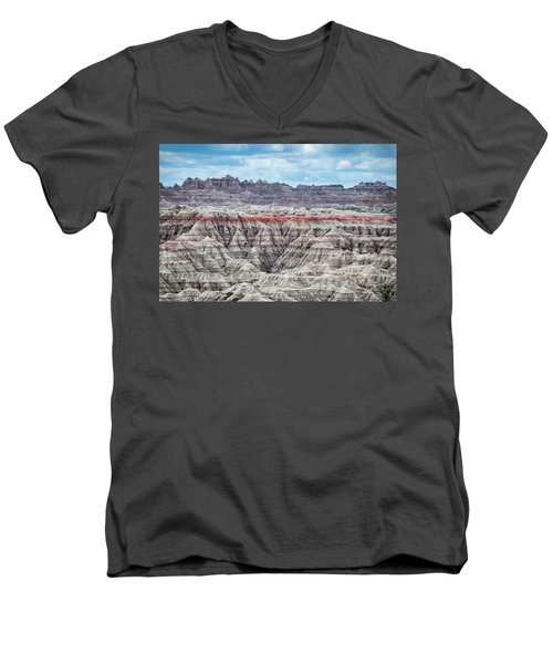 Badlands National Park Vista Men's V-Neck T-Shirt