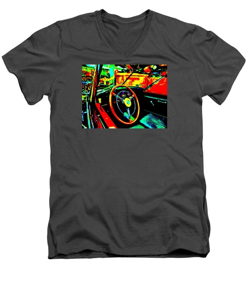 Bahre Car Show II 30 Men's V-Neck T-Shirt by George Ramos