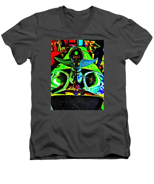 Bahre Car Show II 36 Men's V-Neck T-Shirt by George Ramos