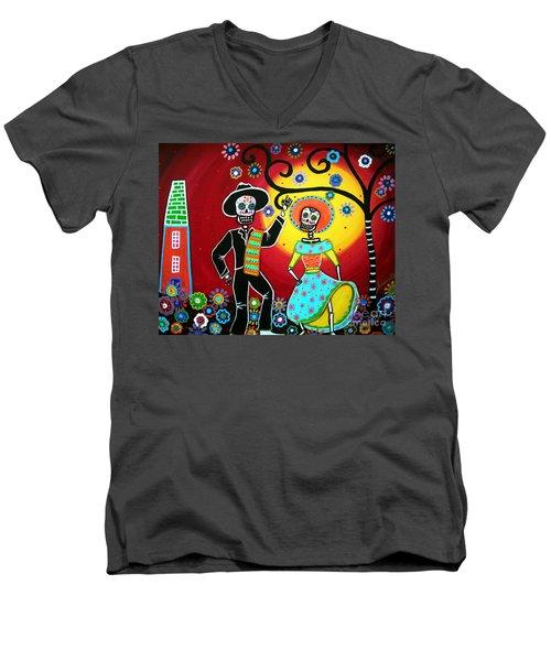 Bailar Men's V-Neck T-Shirt