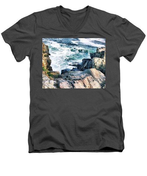 Bailey Island No. 3 Men's V-Neck T-Shirt