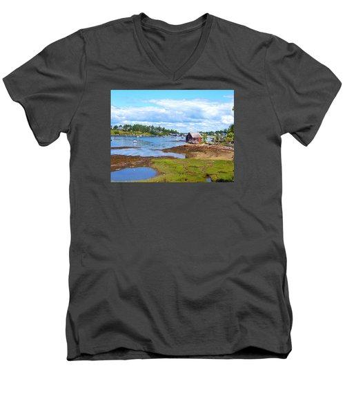 Bailey Island Lobster Shack Men's V-Neck T-Shirt