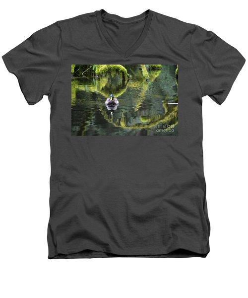 Bainbridge Duck Men's V-Neck T-Shirt