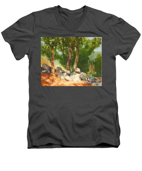 Baking In The Sun Men's V-Neck T-Shirt