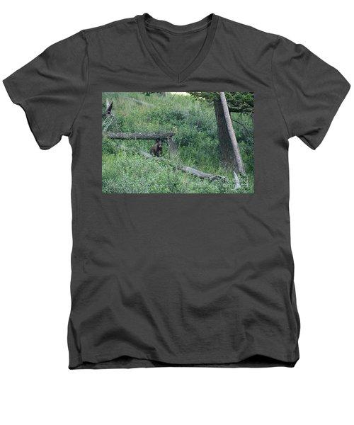 Balance Beam Men's V-Neck T-Shirt