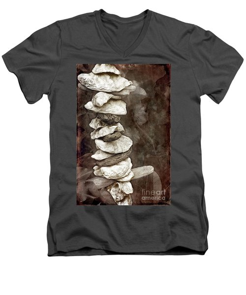 Balanced Men's V-Neck T-Shirt