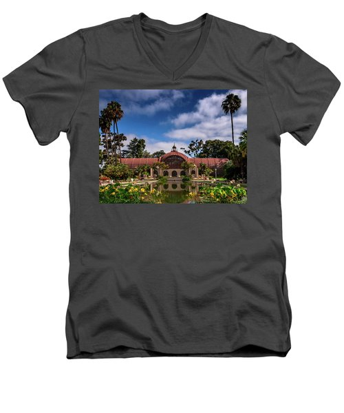 Balboa Park Men's V-Neck T-Shirt by Martina Thompson