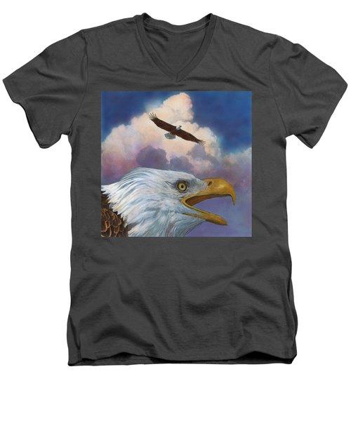 Bald Eagles Men's V-Neck T-Shirt