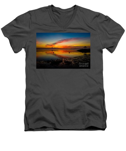 Bali Sunrise II Men's V-Neck T-Shirt