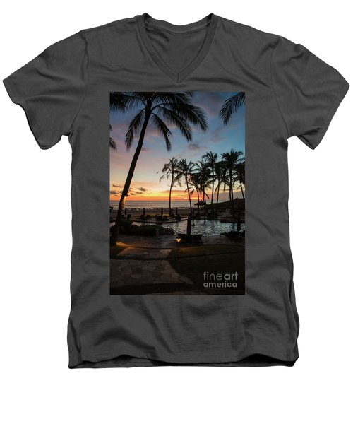Bali Sunset Men's V-Neck T-Shirt