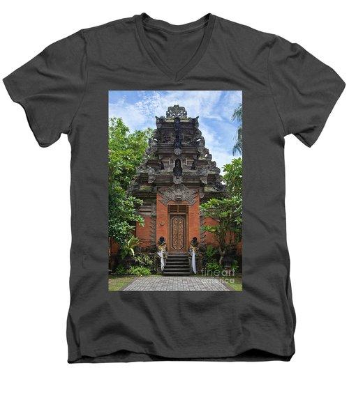 Bali_d3 Men's V-Neck T-Shirt