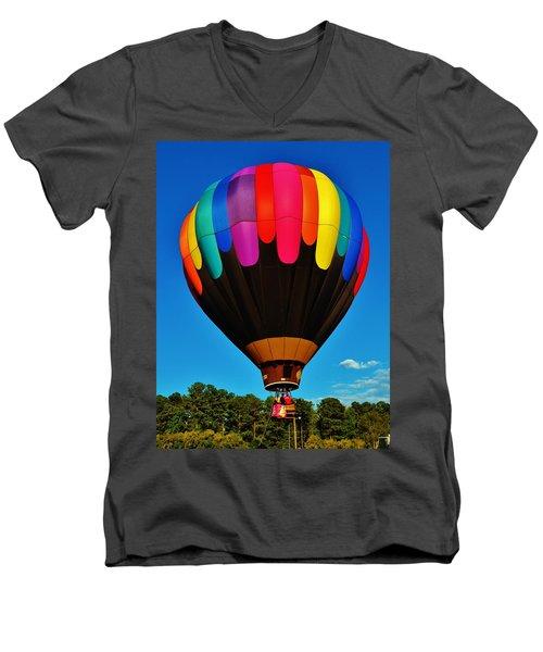 Balloon Colors Men's V-Neck T-Shirt