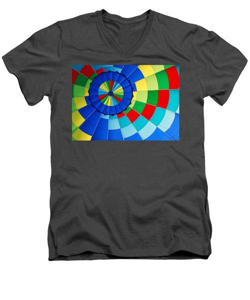 Balloon Fantasy 8 Men's V-Neck T-Shirt